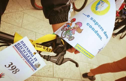 Il CCR e tutti i CSR delle scuole alla storica manifestazione Brindisi in Bicicletta 2019