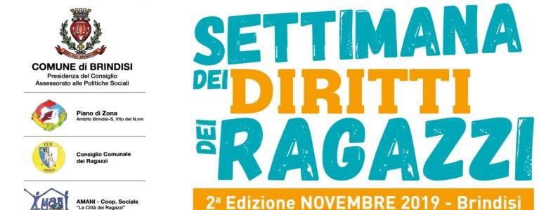 """2ª Edizione """"Settimana dei Diritti dei Ragazzi"""" – Novembre 2019"""