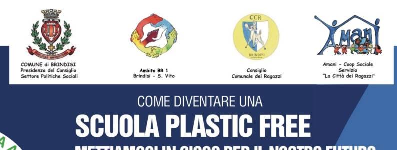 La Campagna #PlasticFree del CCR di Brindisi!